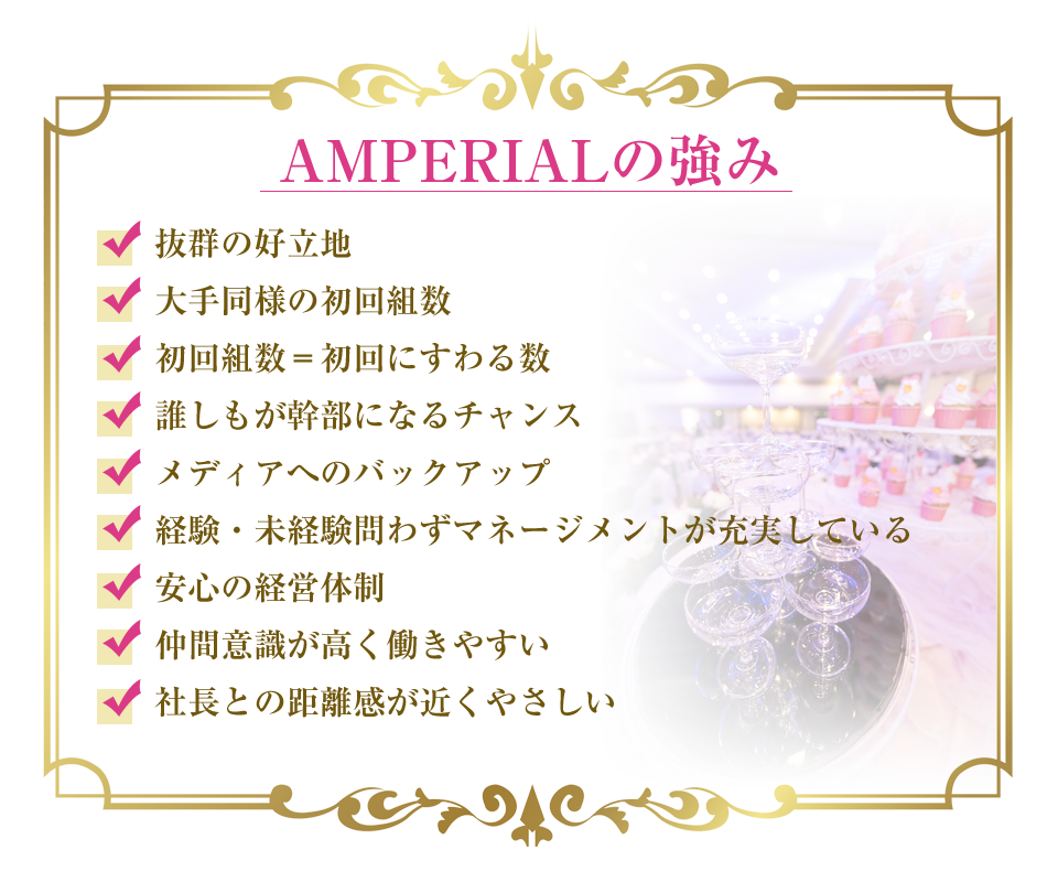 AMPERIALの強み